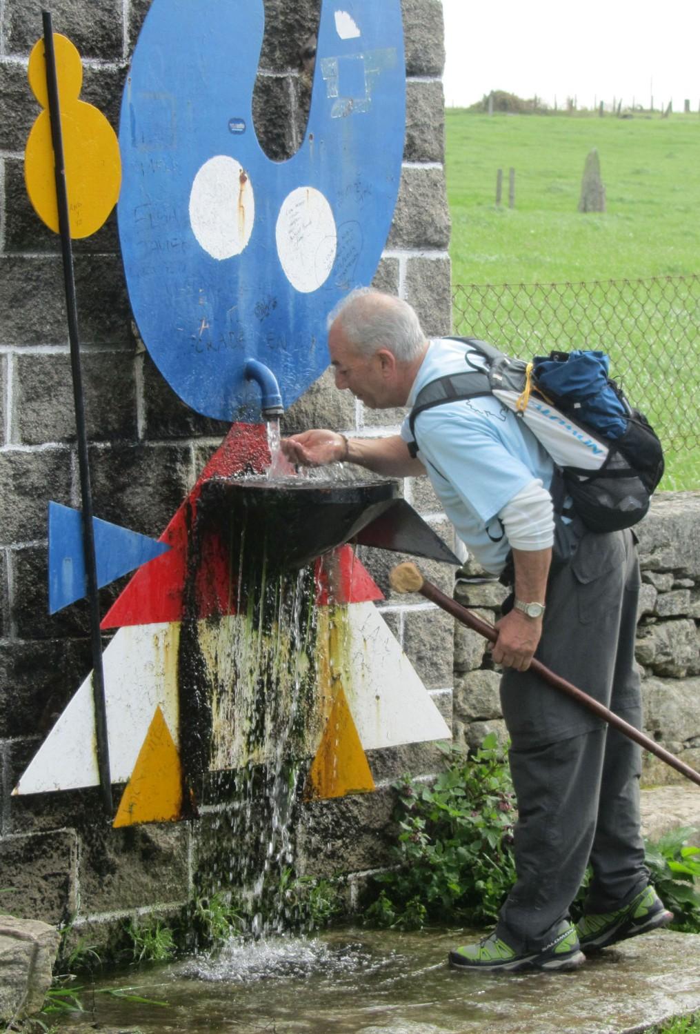 Camino-De-Santiago-Sights-And-Scenery-Water-Fountain