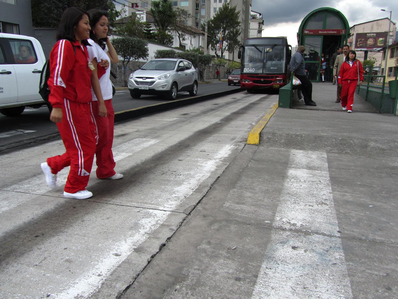 Ecuador-Quito-Street-Scenes-Bus-Lanes