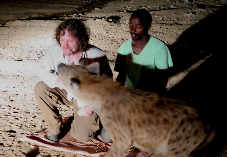 Ethiopia-Harar-Hyenas