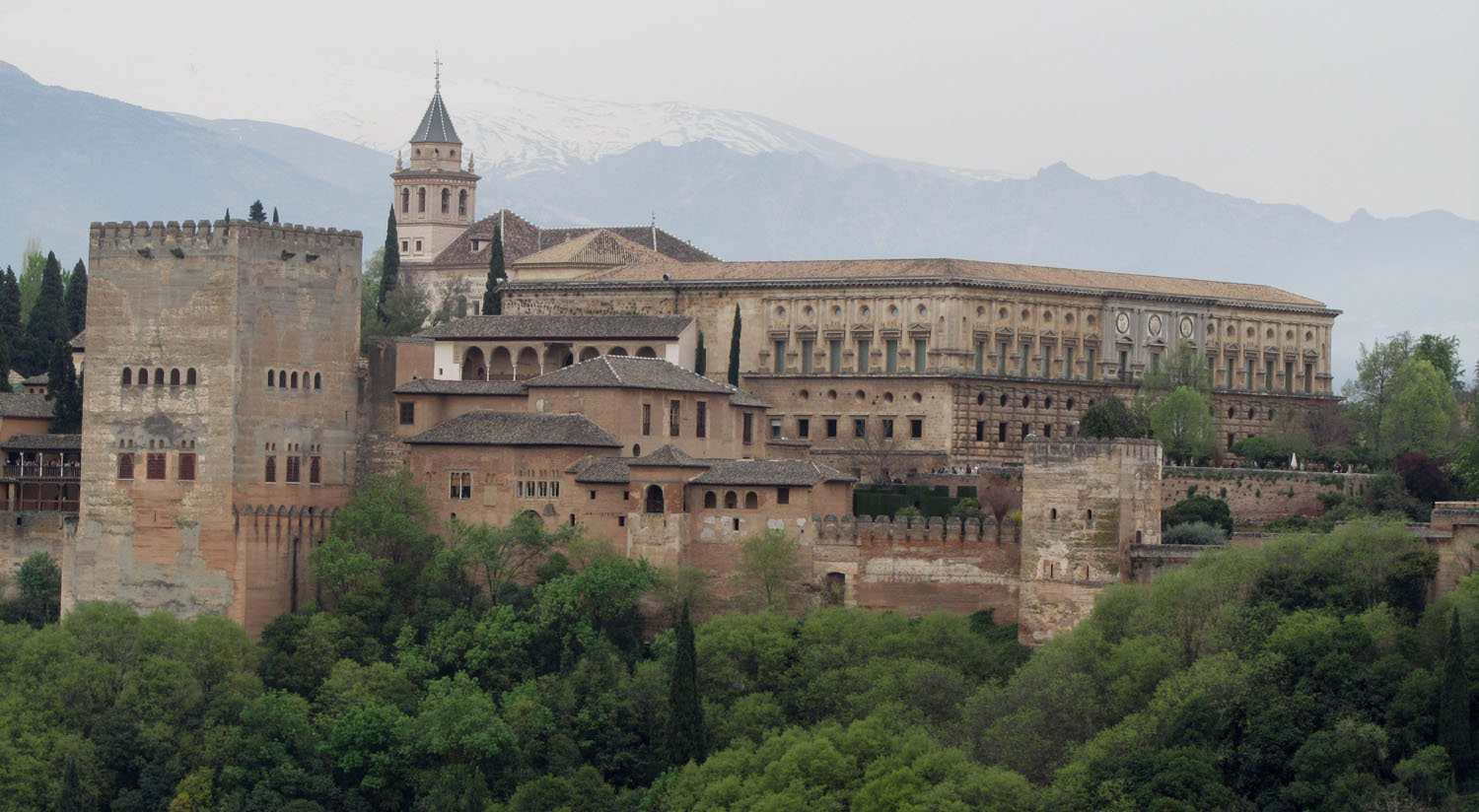 Spain-Granada-Alhambra-Viewed-From-Saint-Nicolas