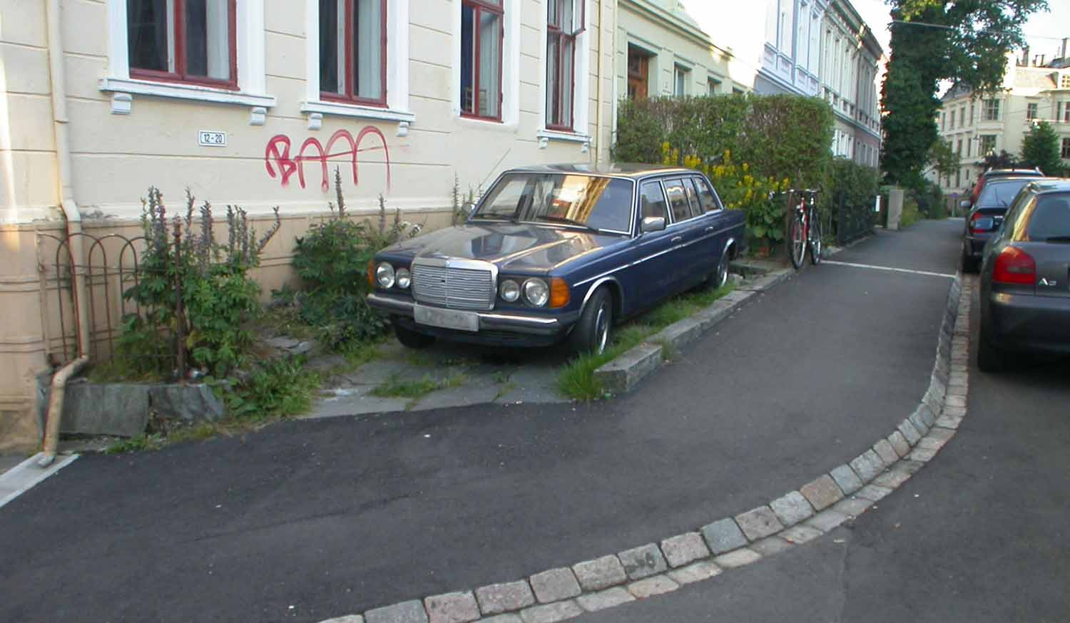 Norway-Bergen-Parking-Place