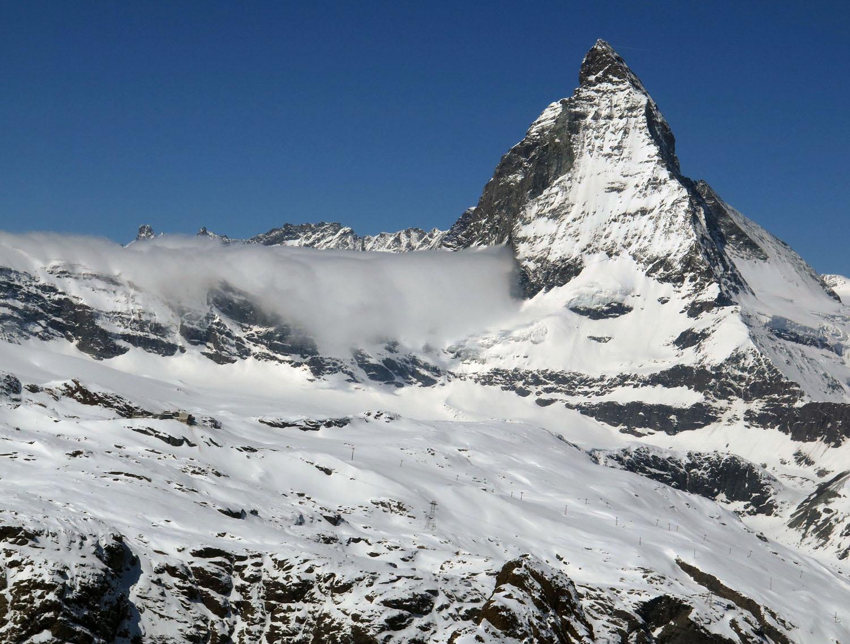 Switzerland-Zermatt-Gornergrat-Matterhorn