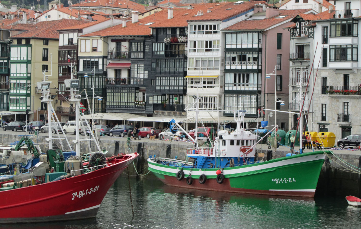 Spain-Lekeitio-Harbor