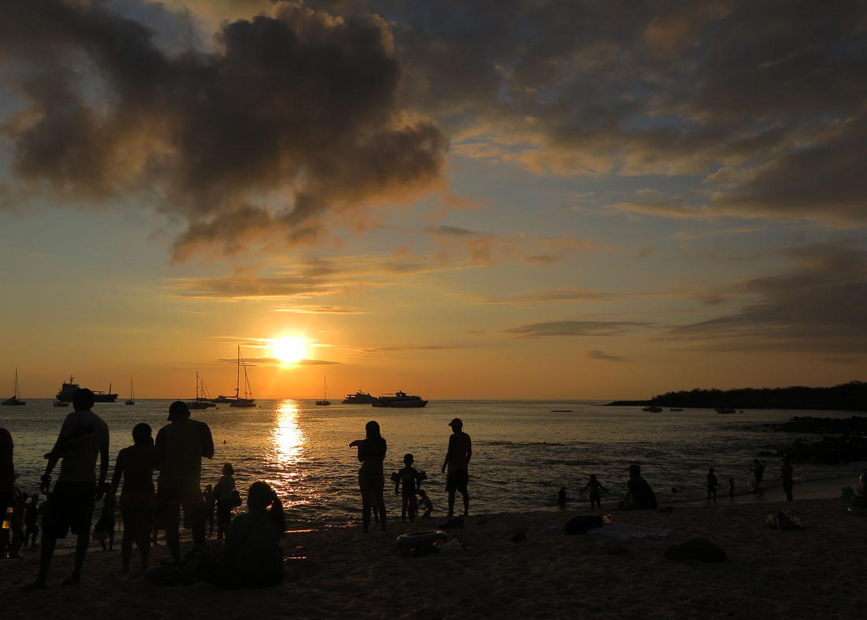 Ecuador-Galapagos-Scenery-Sunset
