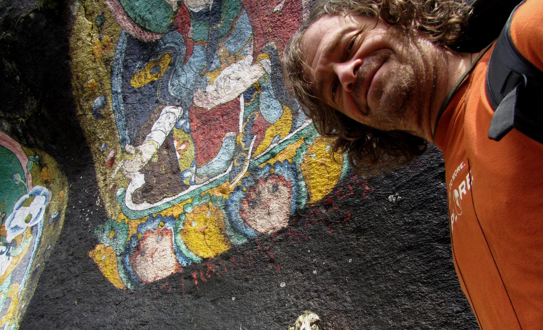 Nepal-Everest-Region-Trek-Day-06-Rock-Art