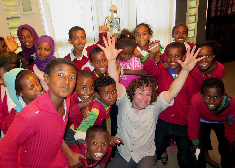 Ethiopia-Addis-Ababa-Lucy-Students