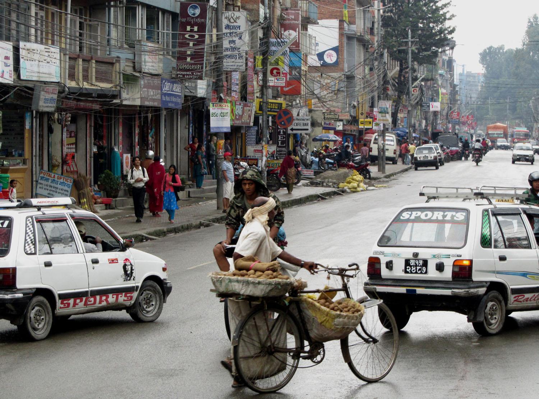 Nepal-Kathmandu-Street-Scene