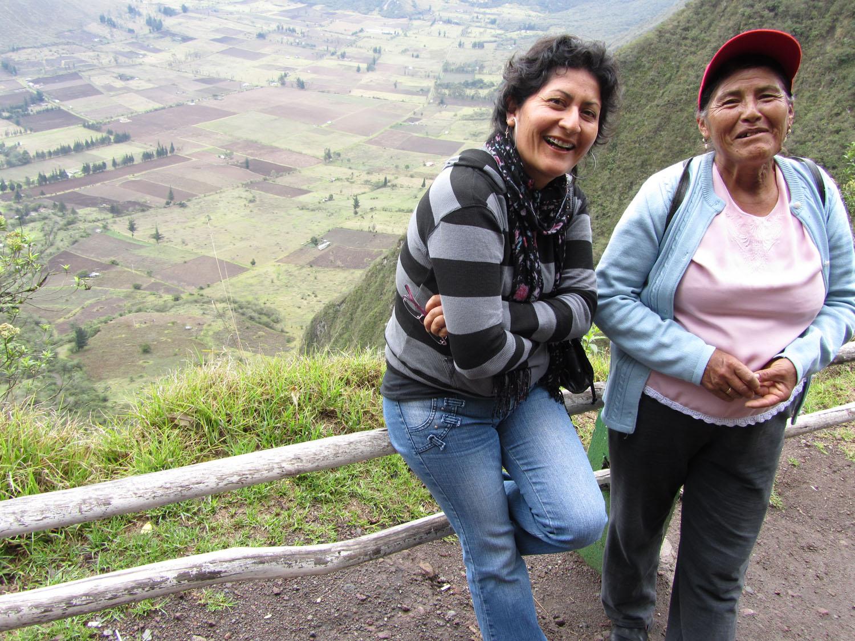 Ecuador-Countryside-Pululahua-Profesora-Senora