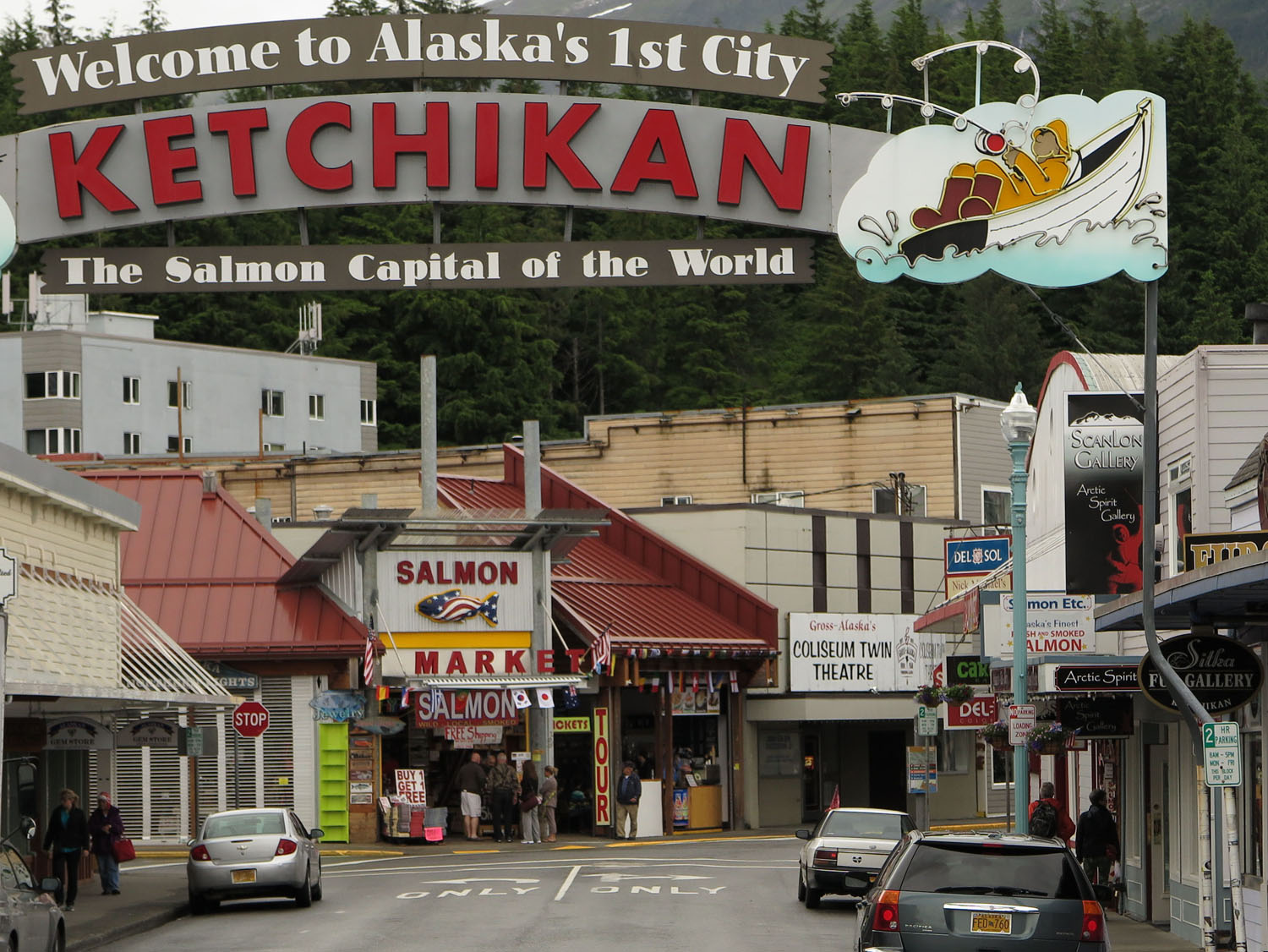 Alaska-Ketchikan-Welcome