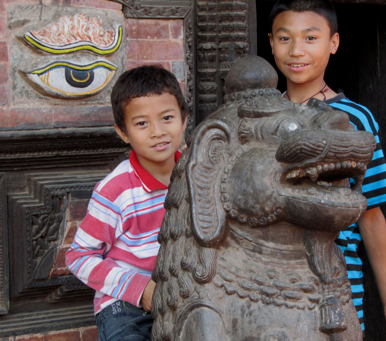 Nepal-Bhaktapur-Boys