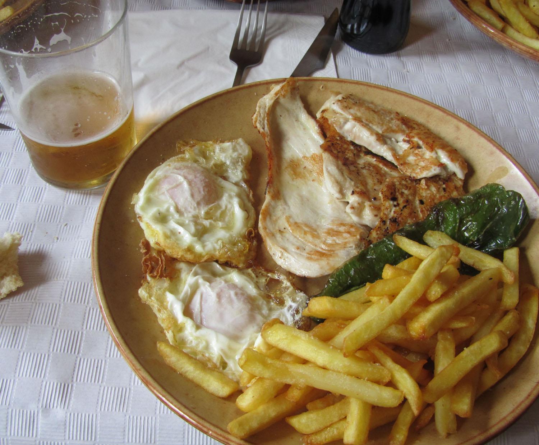 Camino-De-Santiago-Food-And-Drink-Pollo