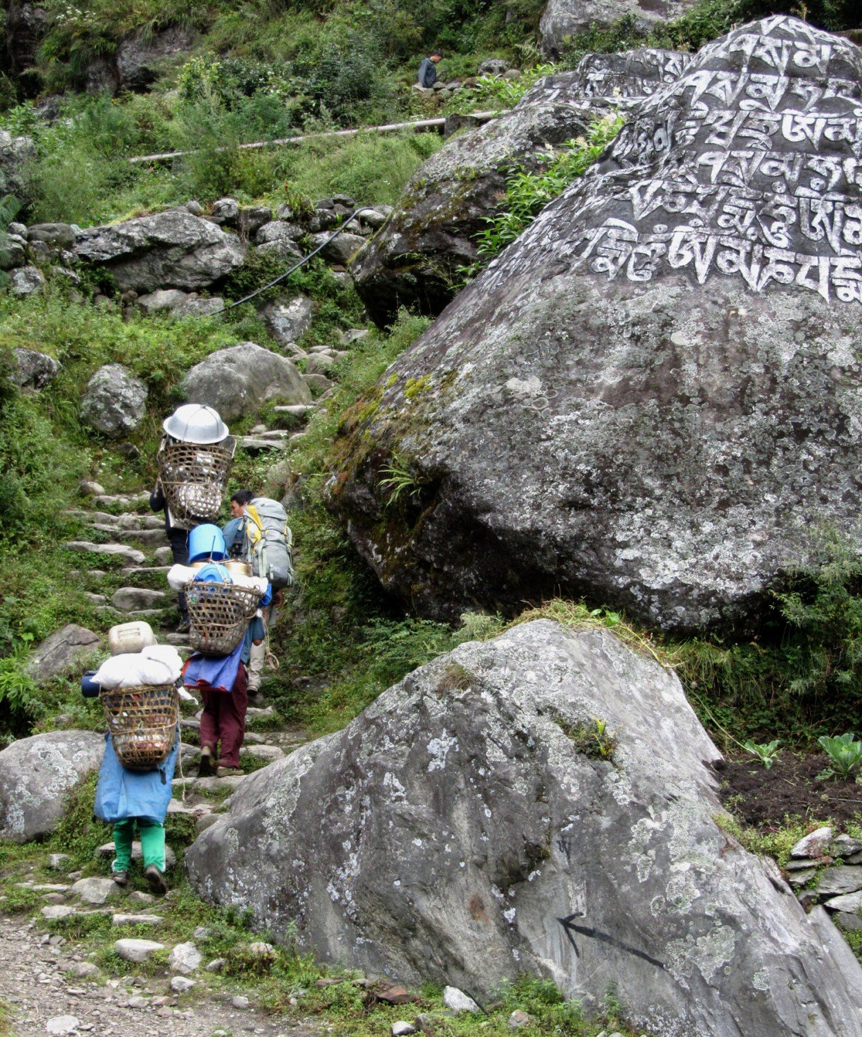 Nepal-Everest-Region-Trek-Day-01-Mani-Stones