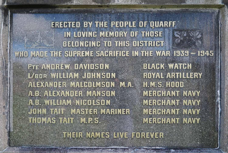Scotland-Shetland-War-Memorial