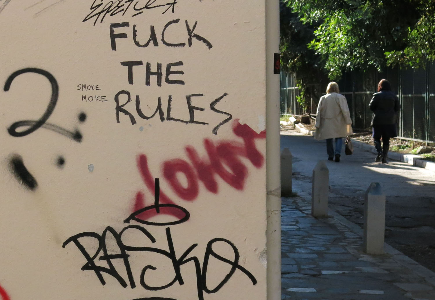 Greece-Athens-Graffiti