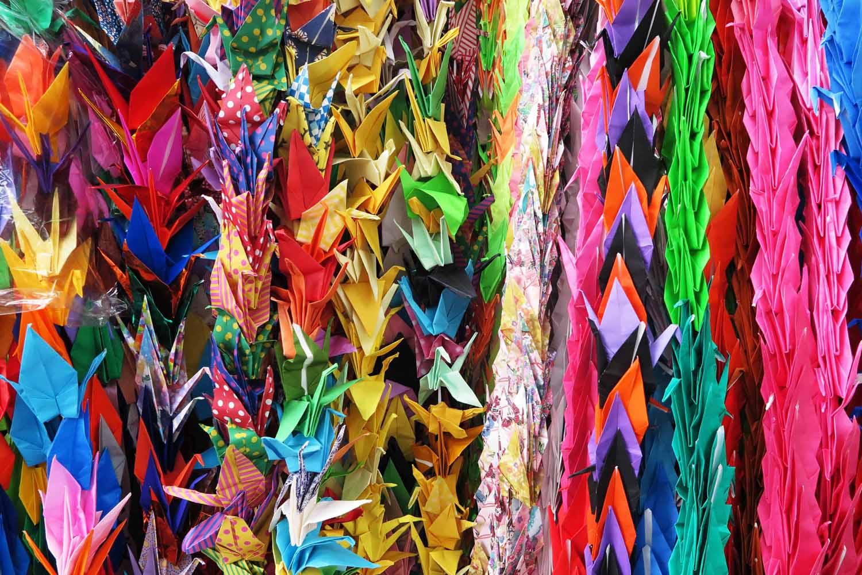 Japan-Hiroshima-Peace-Park-Origami-Cranes
