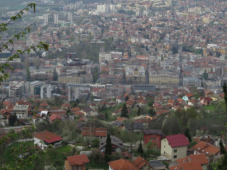 Bosnia-Sarajevo-Siege-Skyline