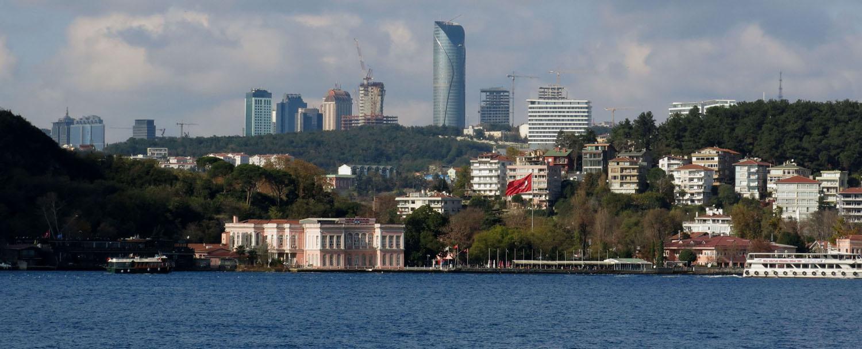 Turkey-Bosphorus-Buildings