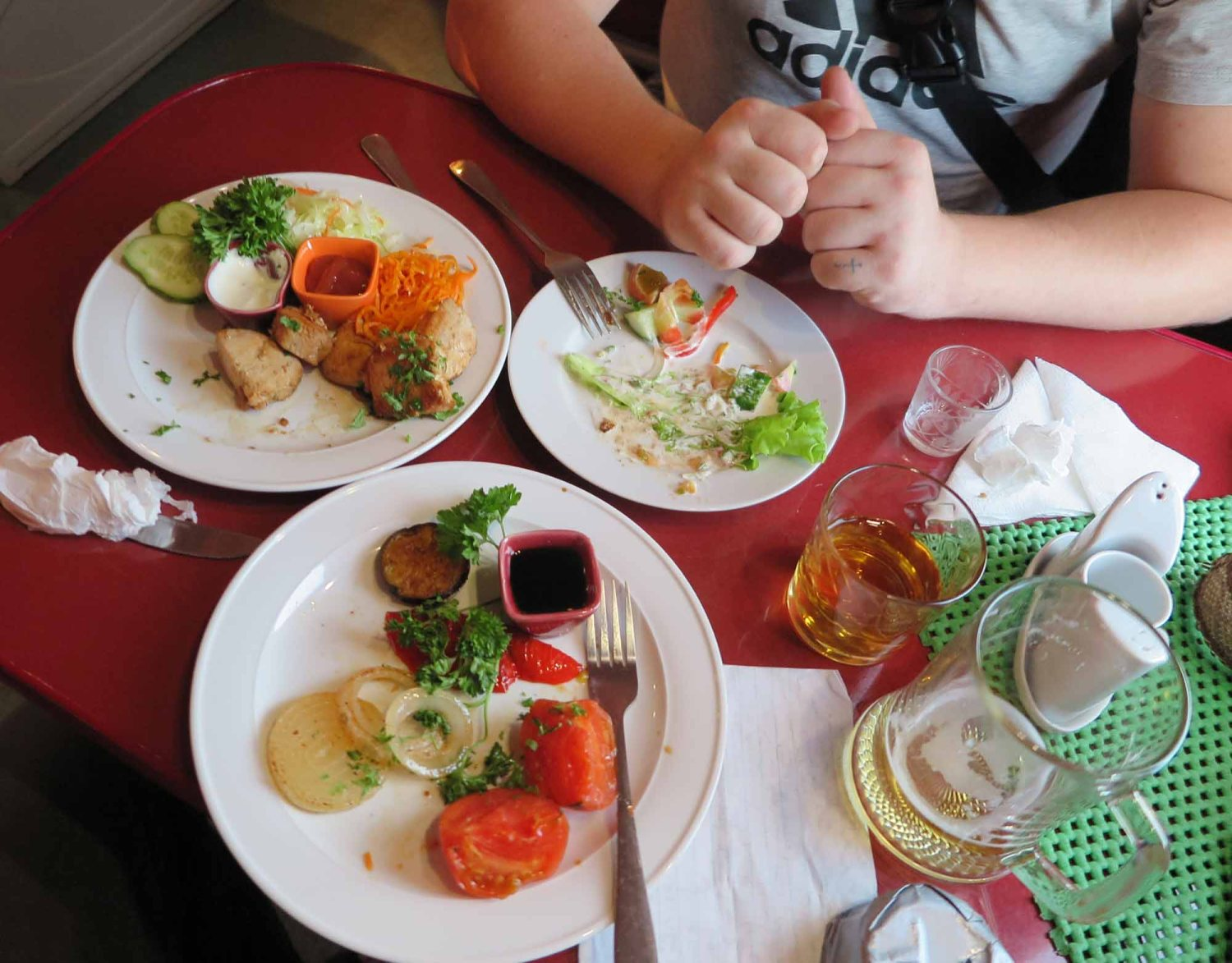 Russia-Trans-Siberian-Railway-Food-And-Drink-Dinner
