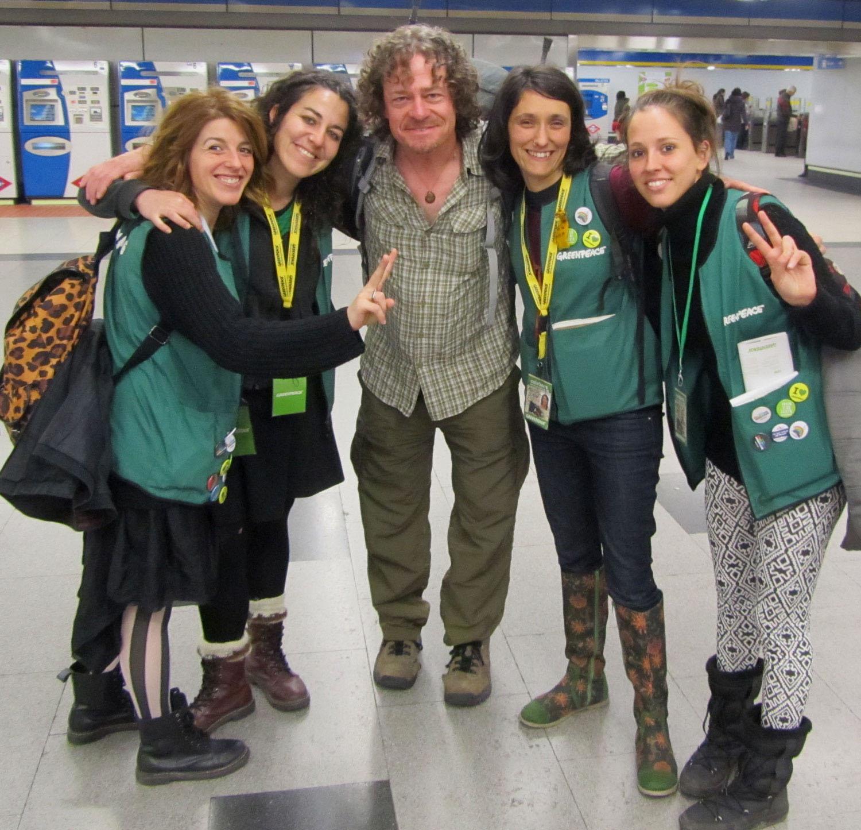 Spain-Madrid-Greenpeace-Ladies