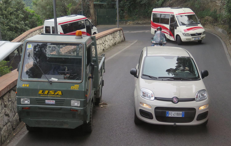 Italy-Capri-Traffic