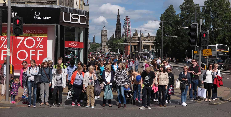 Scotland-Lowlands-Edinburgh-Crosswalk