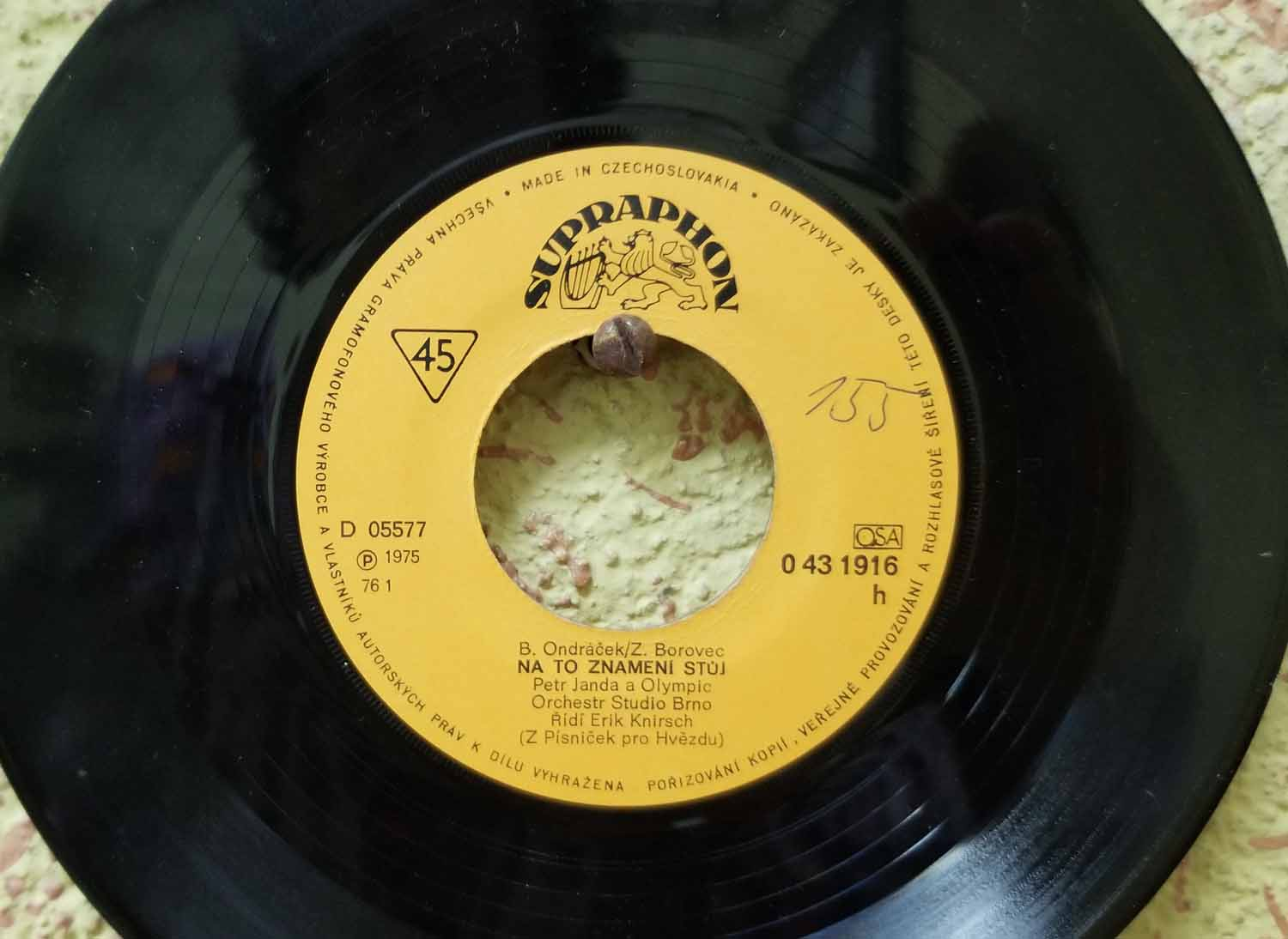 Czech-Republic-Brno-10-Z-Bunker-45rpm-Record