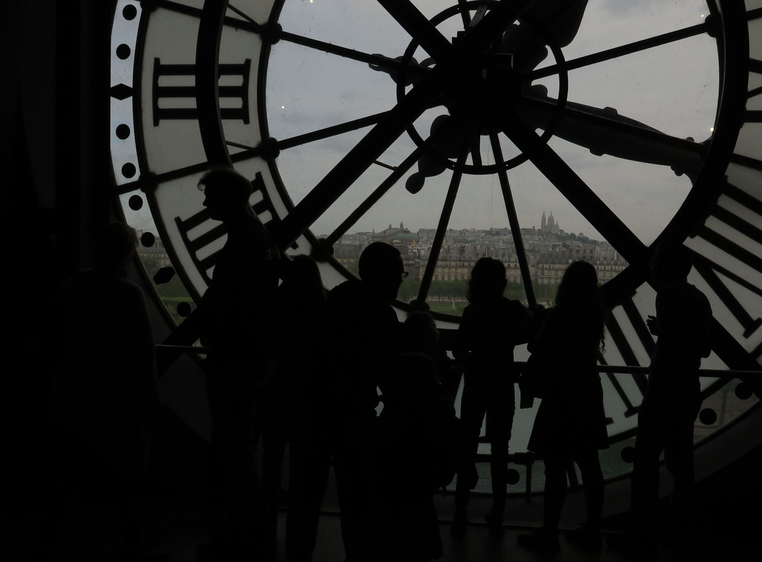 France-Paris-D-Orsay-Clock