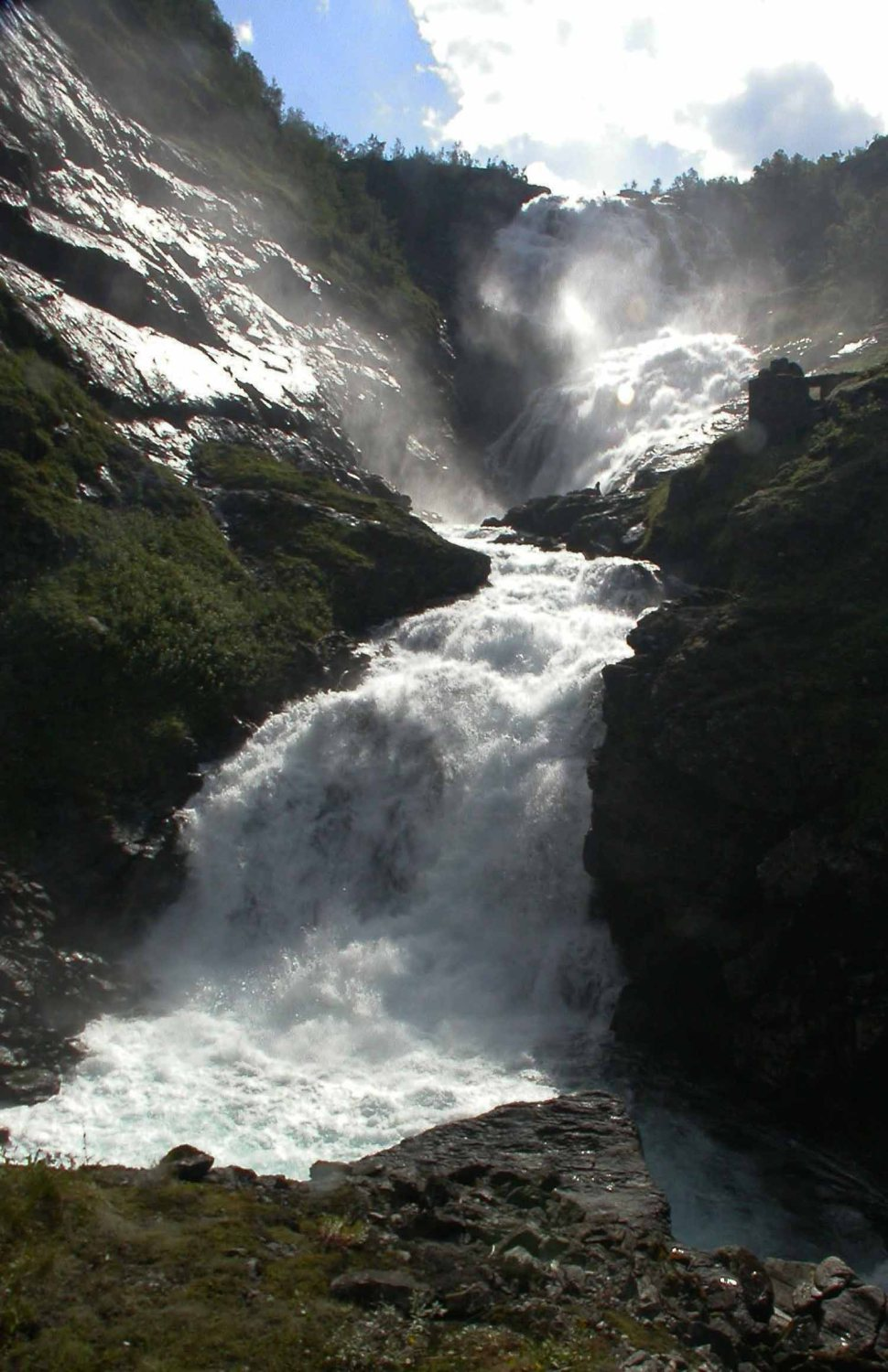 Norway-Sognefjord-Waterfall