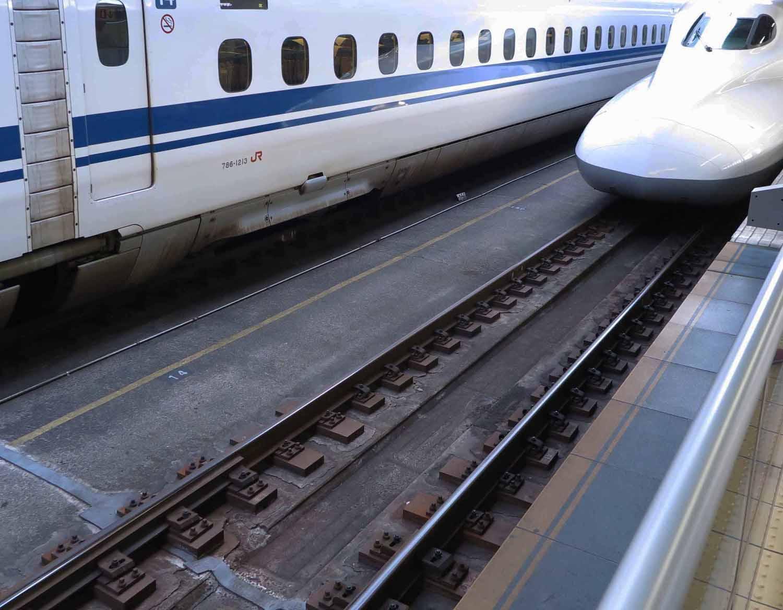 Japan-Shinkansen-Tracks
