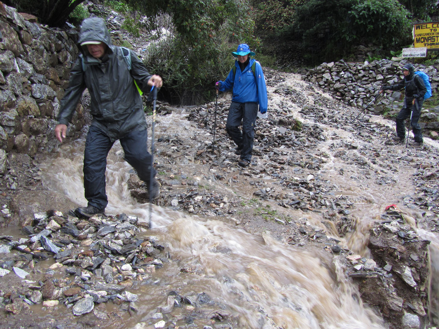 Nepal-Everest-Region-Trek-Day-06-Rain