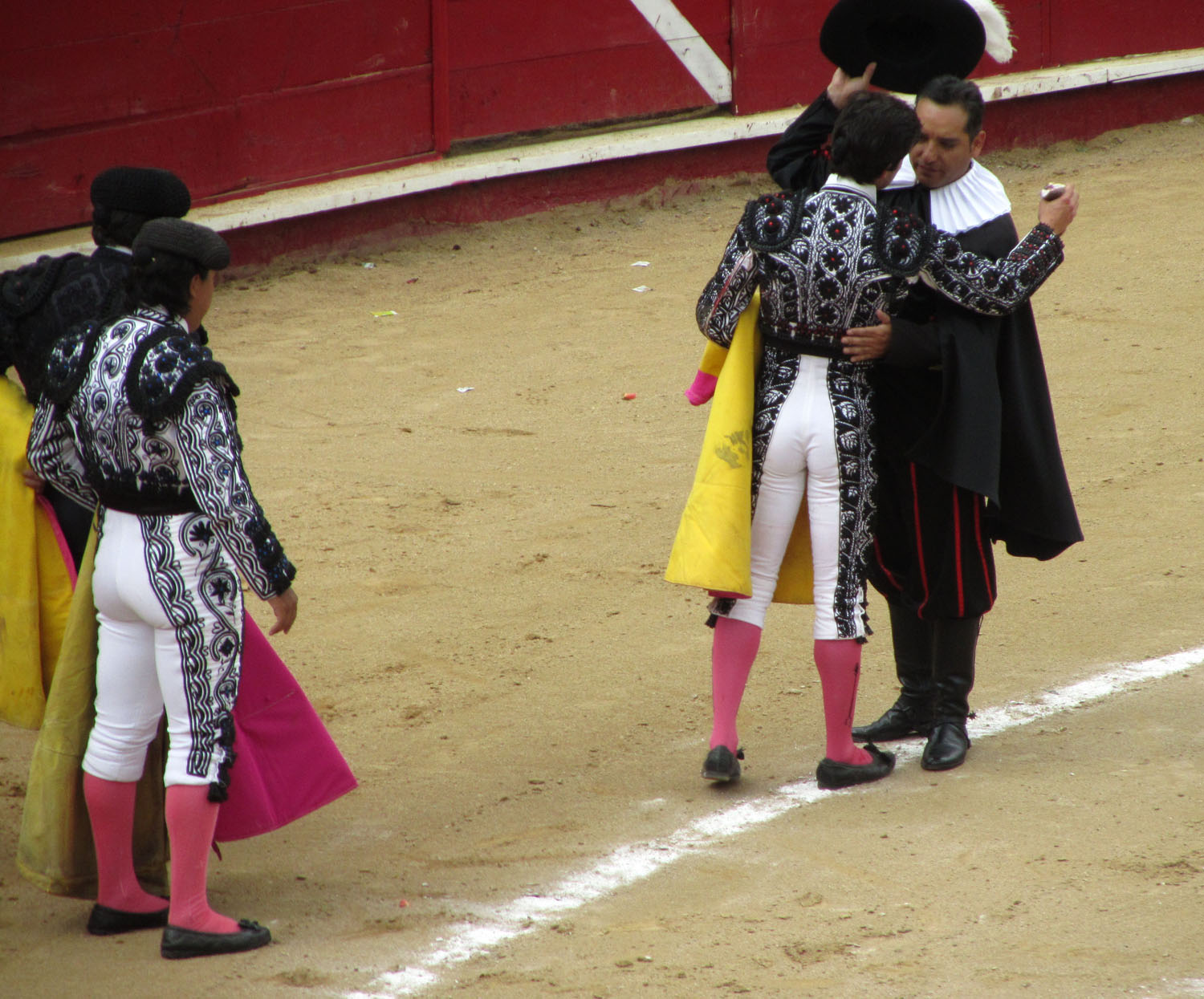 Ecuador-Quito-Bullfight-Awarding-The-Ears