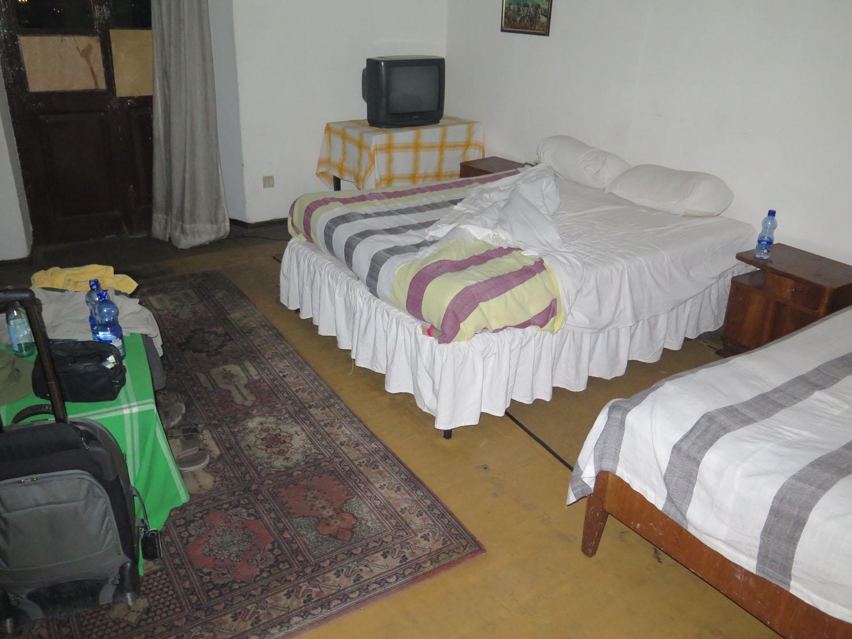 Ethiopia-Addis-Ababa-Itegue-Taitu-Hotel-Bed