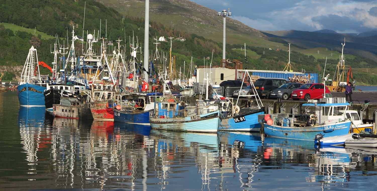 Scotland-Highlands-Ullapool-Harbor