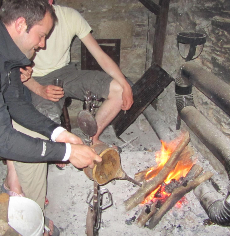 Camino-De-Santiago-People-Kent-Fireplace