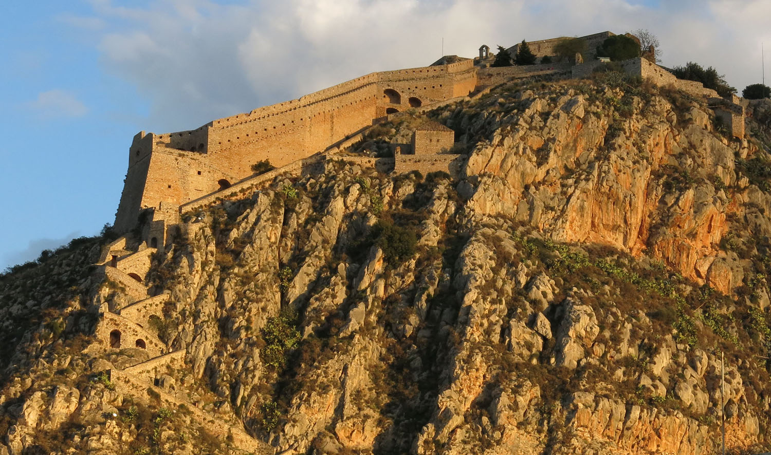 Greece-Nafplio-Palamidi Fortress
