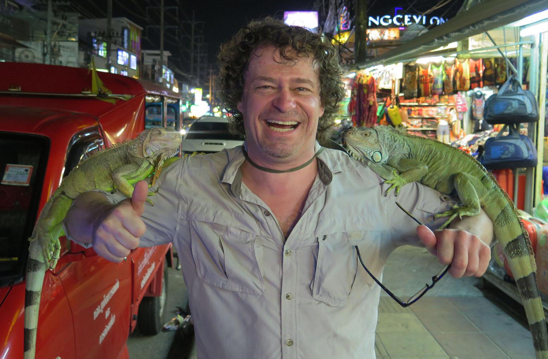 Thailand-Phuket-Iguanas