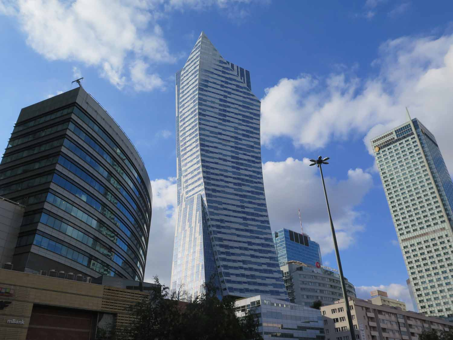 Poland-Warsaw-Skyscrapers