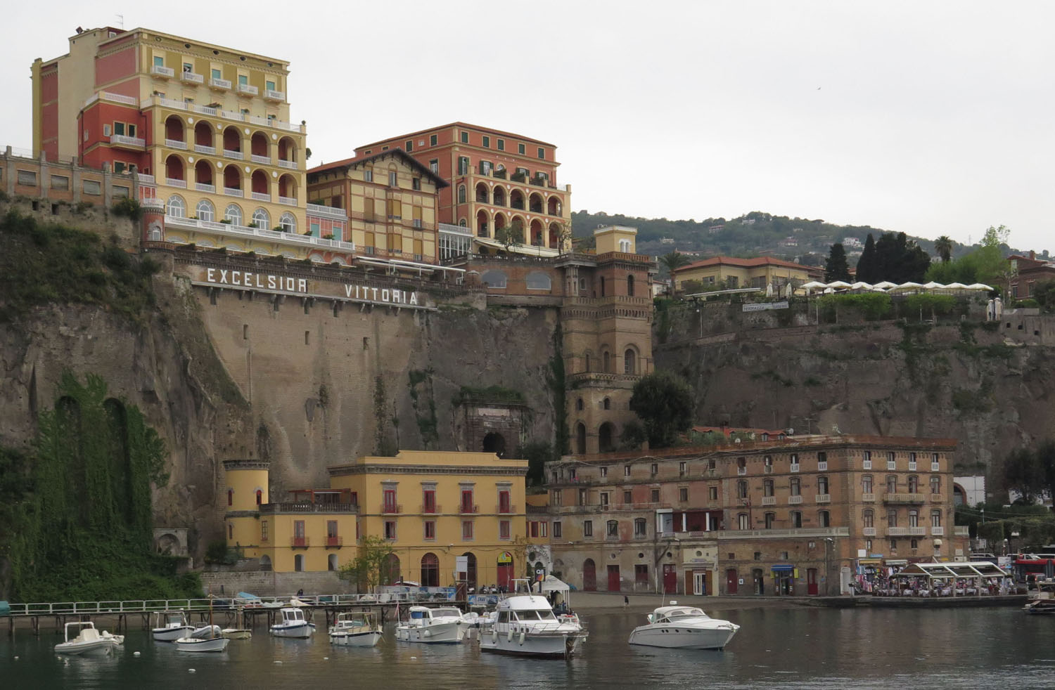 Italy-Sorrento-Harbor