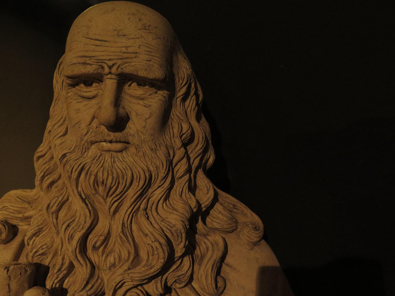 Italy-Florence-Renaissance-Leonardo-Bust