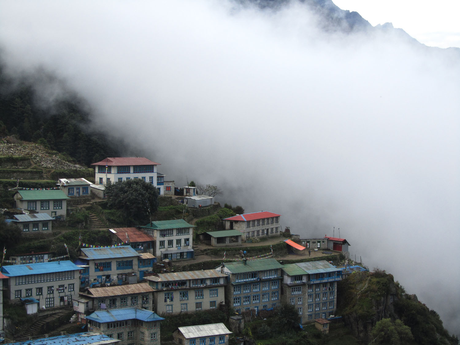 Nepal-Everest-Region-Trek-Day-03-Namche-Clouds