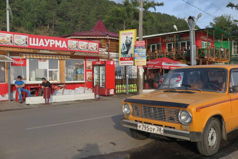 Russia-Trans-Siberian-Railway-Listvyanka-Lake-Baikal-Shops
