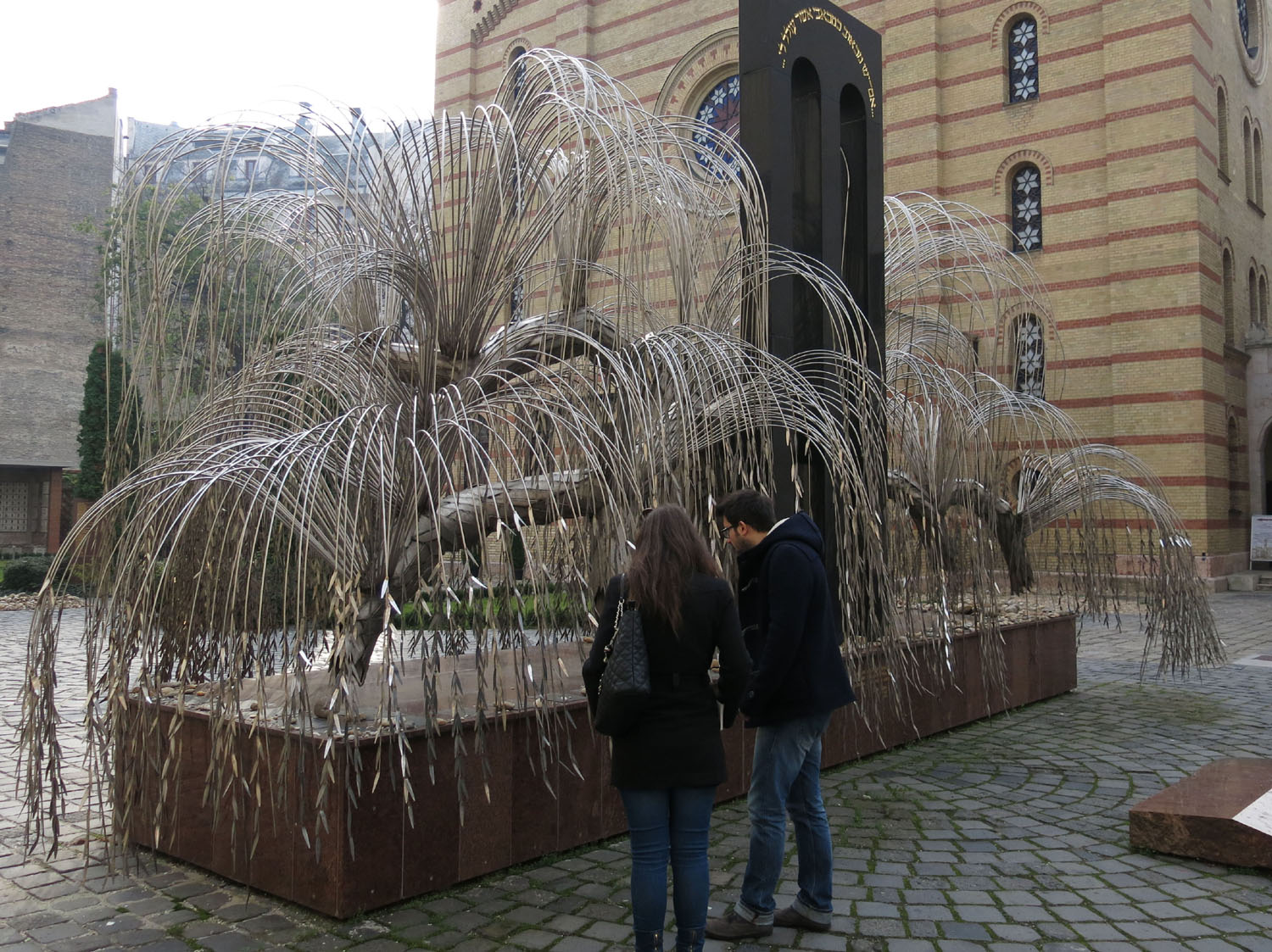 Hungary-Budapest-Great-Synagogue-Tree-Of-Life