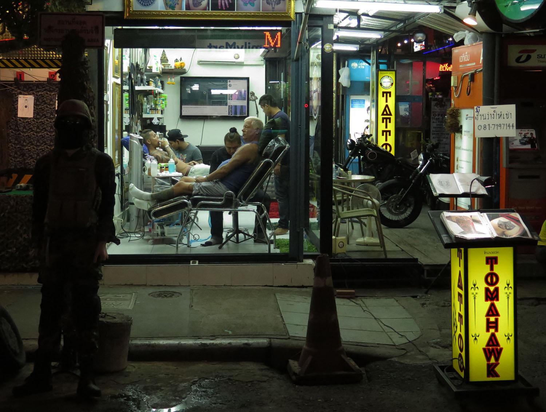 Thailand-Phuket-Street-Scenes-Tattoo