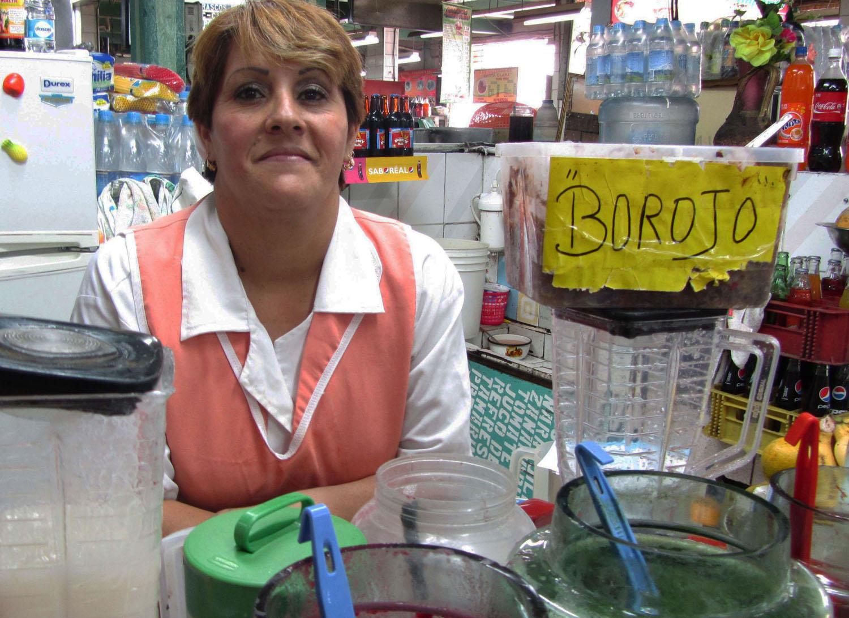 Ecuador-Quito-Mercado-Borojo