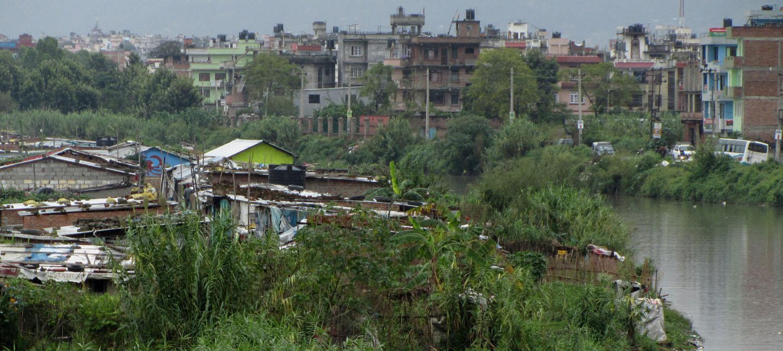Nepal-Kathmandu-Shanties