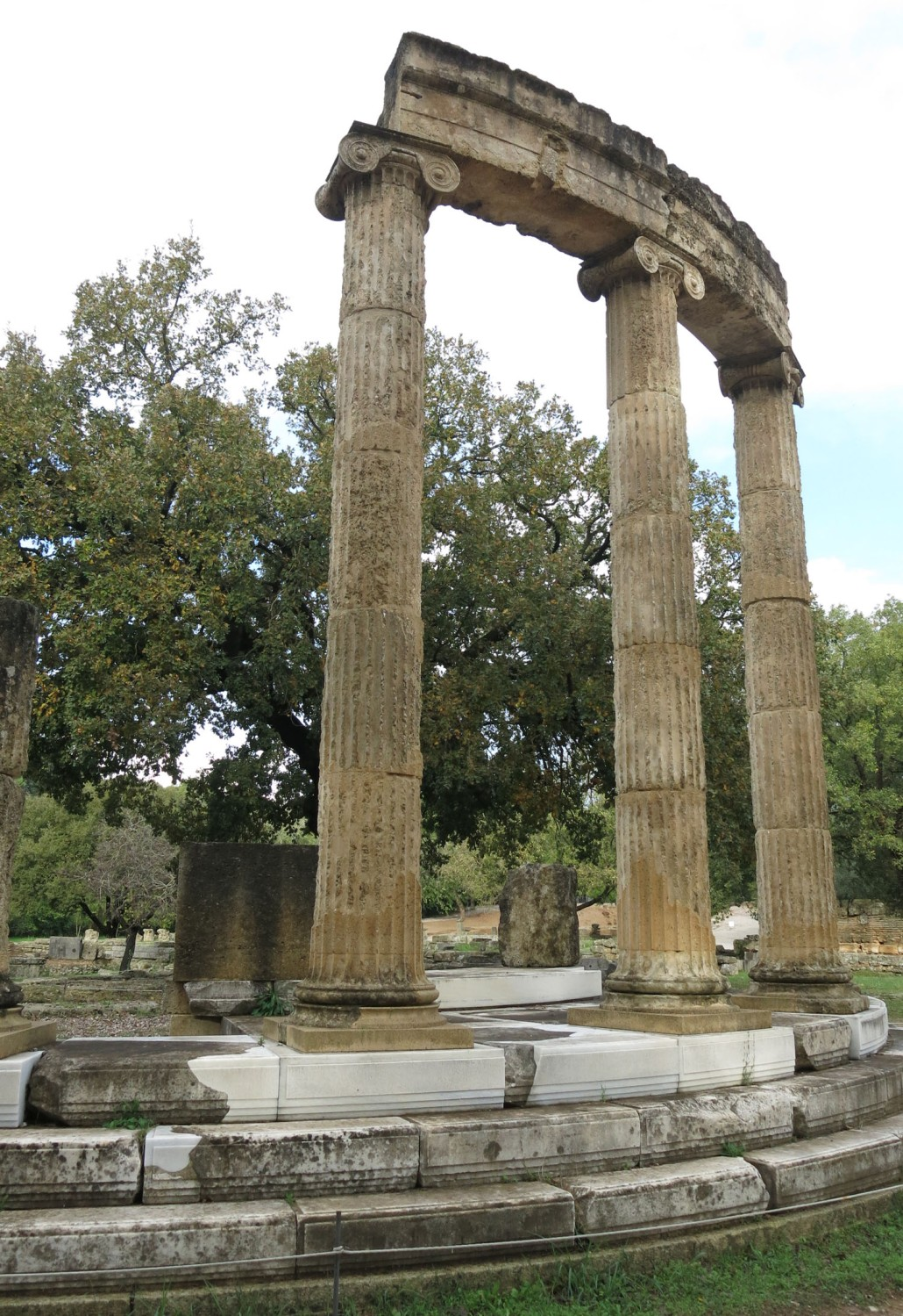 Greece-Olympia-Temple