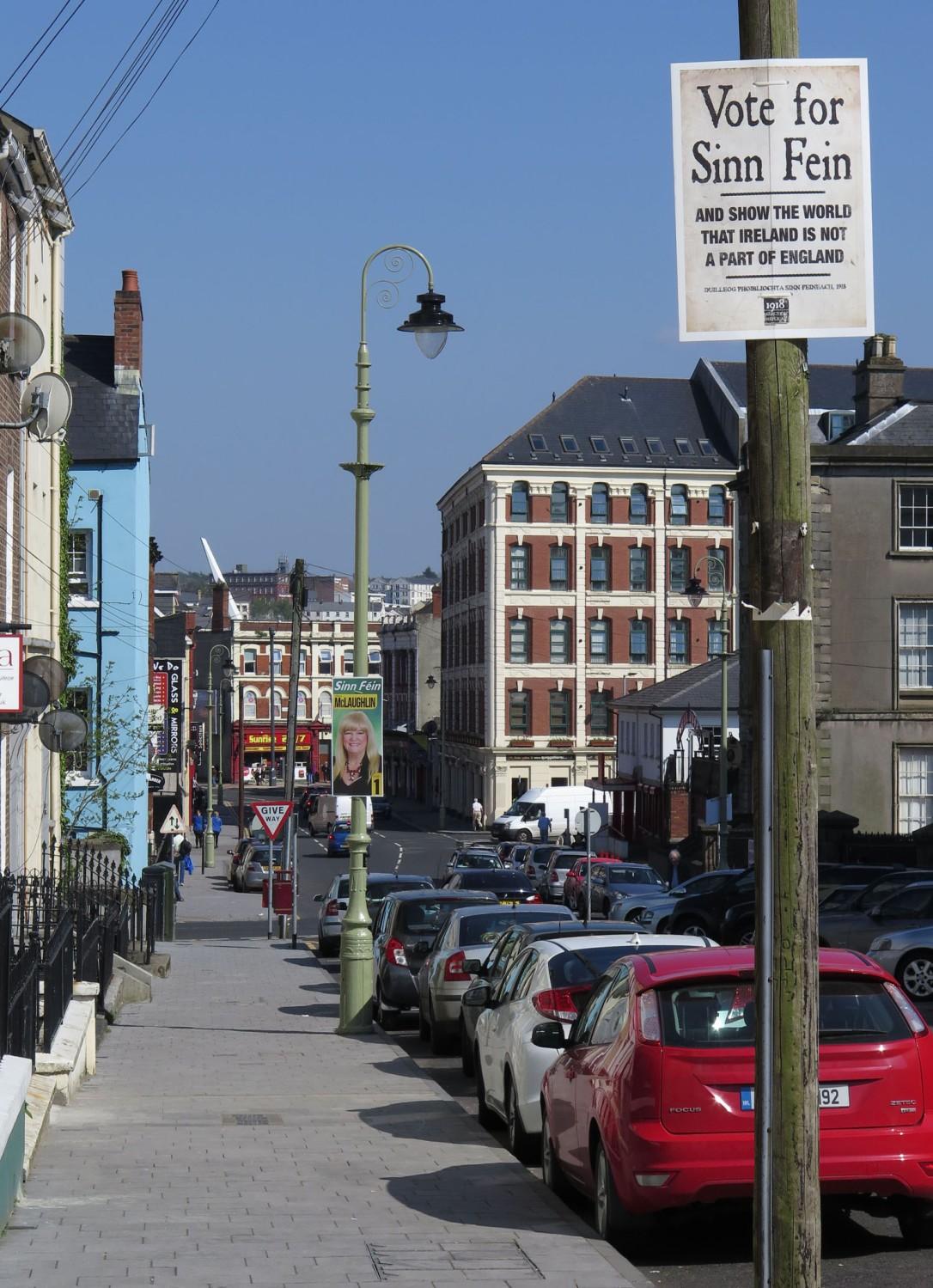 Northern-Ireland-Derry-Londonderry-Street-Scenes-Sinn-Fein