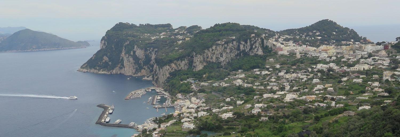 Italy-Capri-Marina-Grande-Town