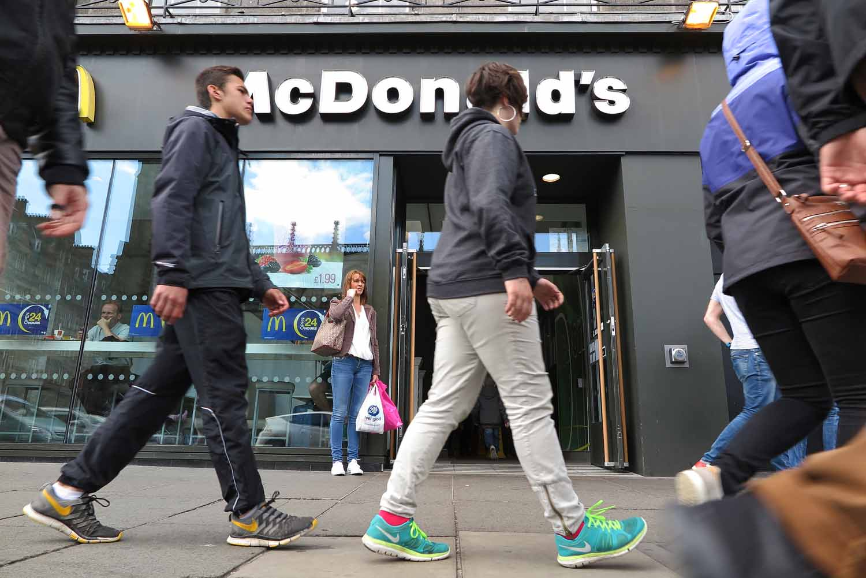 Scotland-Lowlands-Edinburgh-McDonalds