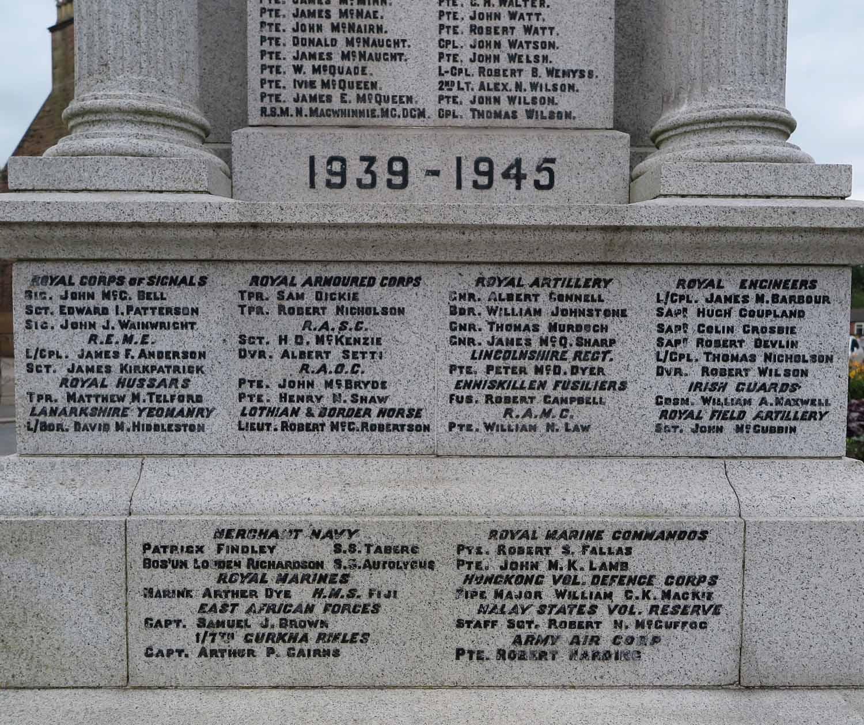 Scotland-Lowlands-Dumfries-WWII-Memorial